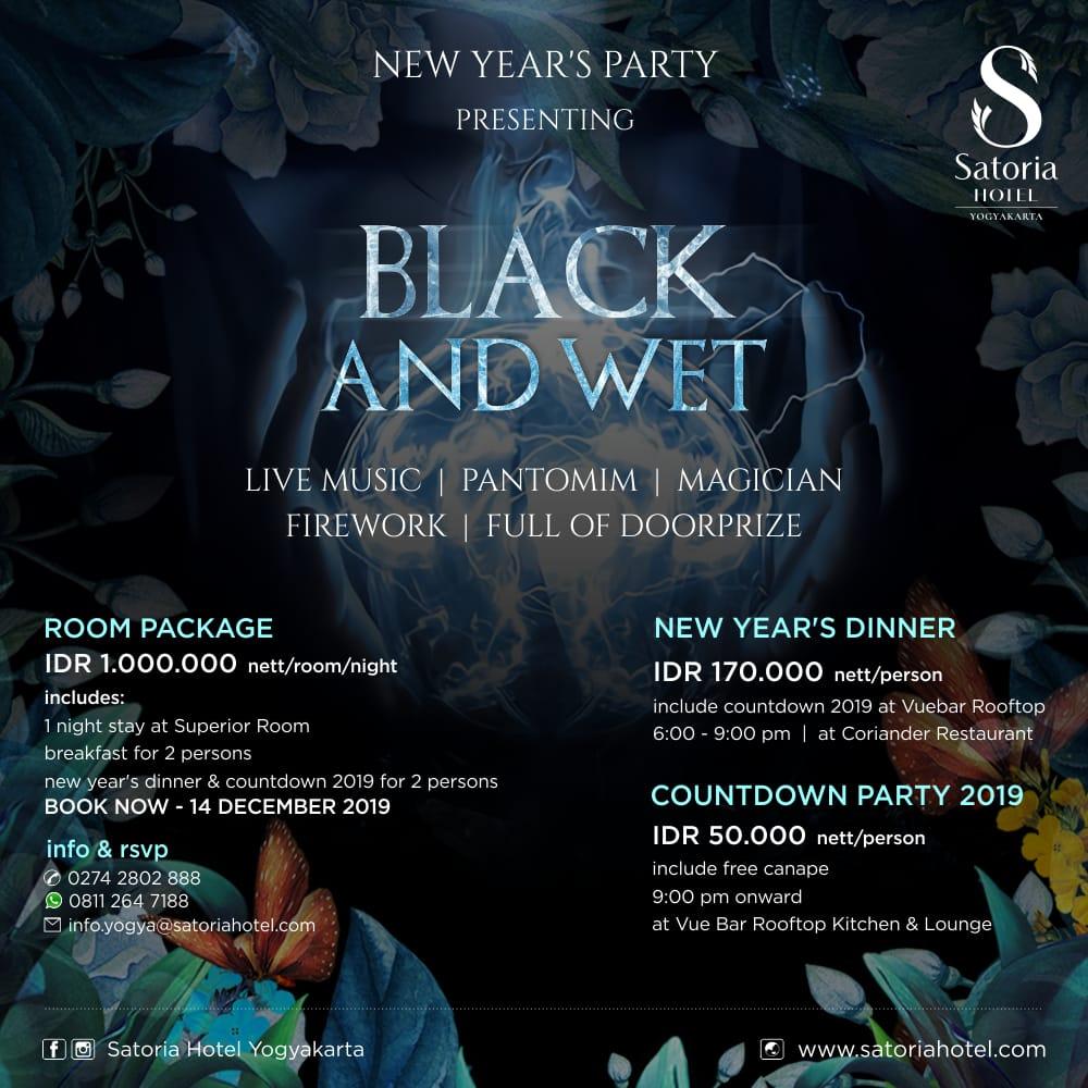 Celebrate New Year Eve In Yogyakarta Satoria Hotel Yogyakarta